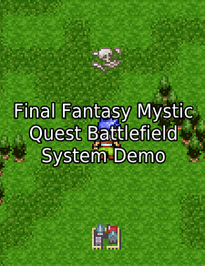 Final Fantasy Mystic Quest Battlefield System Tutorial