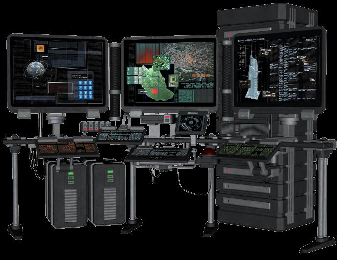 Console | Daz 3D Studio | Dystopian Console