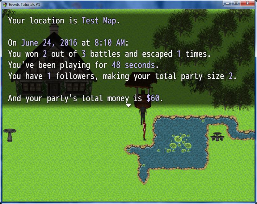 Extra Message Codes Plugin (RMMV)