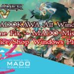 KADOKAWA Alt Window Frame Fix - MADO Missing Choice/Shop Windows Plugin